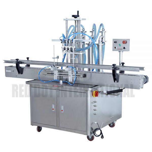 Fully-Automated Liquid / Gel / Paste Hydraulic/Piston Filling Machine (Liquid/Gel/Paste Filler)