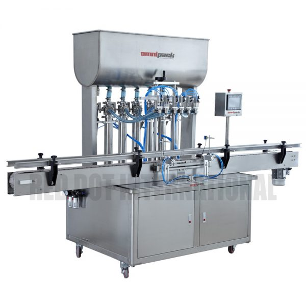 Fully-Automated Liquid / Gel / Paste Hydraulic/Piston Filling Machine (Liquid/Gel/Paste Filler) with Tank