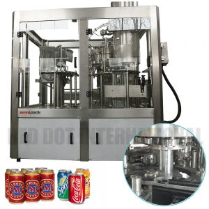 Omnipack Fully-Automated Can Filling Machine For Carbonated Beverages
