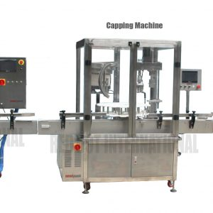 Omnipack Fully-Automated Filling Machine with Capping Machine and Labelling Machine
