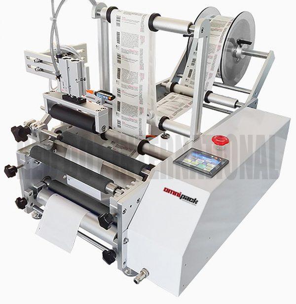 Omnipack 300R Round Label Sticking Machine