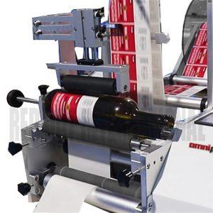 Round Label Sticking Machine