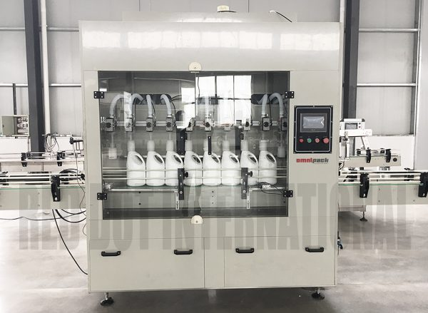 Omnipack Fully-Automated Liquid Filling Machine For Corrosive Product